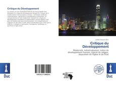 Bookcover of Critique du Développement