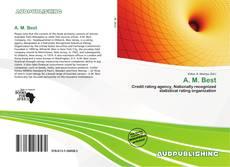 A. M. Best kitap kapağı
