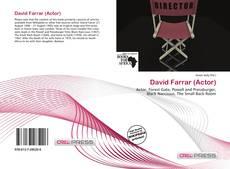 David Farrar (Actor)的封面