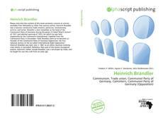 Bookcover of Heinrich Brandler