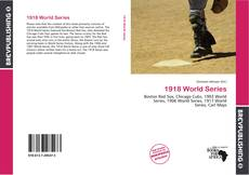 Bookcover of 1918 World Series