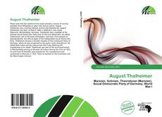 Bookcover of August Thalheimer