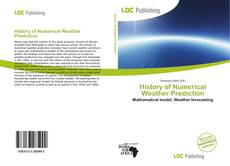 Bookcover of History of Numerical Weather Prediction