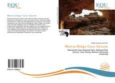Portada del libro de Martin Ridge Cave System