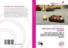 Bookcover of 1981 New York Yankees Season