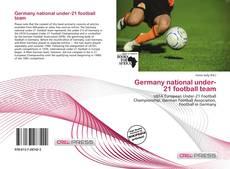 Обложка Germany national under-21 football team