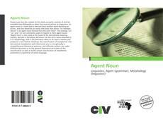 Agent Noun kitap kapağı