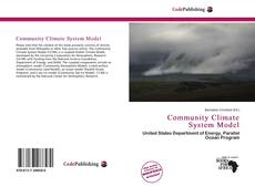 Bookcover of Community Climate System Model