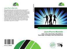 Capa do livro de Jean-Pierre Marielle