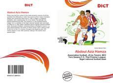 Abdoul Aziz Hamza的封面