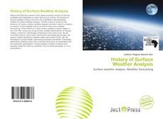Обложка History of Surface Weather Analysis