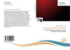 Capa do livro de Language Secessionism