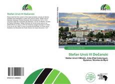 Portada del libro de Stefan Uroš III Dečanski