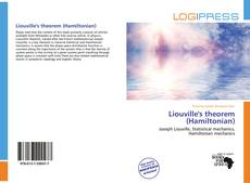 Bookcover of Liouville's theorem (Hamiltonian)