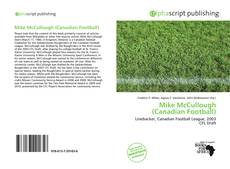 Bookcover of Mike McCullough (Canadian Football)