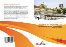 Bookcover of Victoria du Royaume-Uni