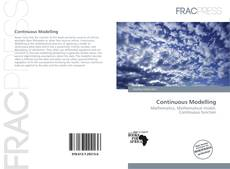 Bookcover of Continuous Modelling