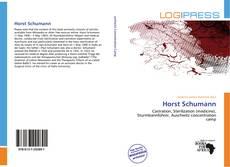 Обложка Horst Schumann