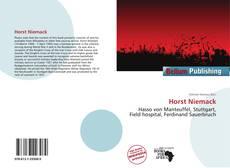 Bookcover of Horst Niemack