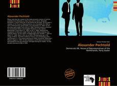 Portada del libro de Alexander Pechtold