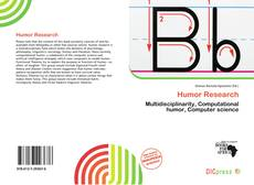 Capa do livro de Humor Research