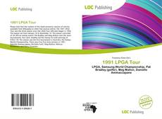 Bookcover of 1991 LPGA Tour