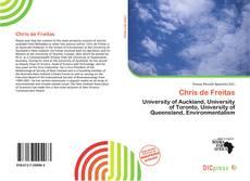 Bookcover of Chris de Freitas