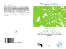 Bookcover of Lucie Höflich