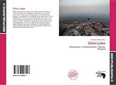 Обложка Chini Lake
