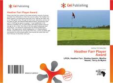 Bookcover of Heather Farr Player Award