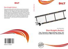 Don Knight (Actor)的封面