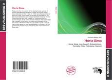Bookcover of Horia Sima