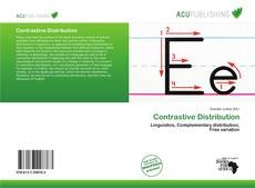 Bookcover of Contrastive Distribution
