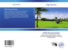 Bookcover of LPGA Championship
