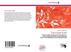 Couverture de Christoph Kohl