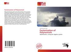 Bookcover of Factorization of Polynomials
