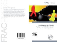Caroline Carver (Actor)的封面