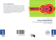 Bookcover of Canon Magnétique