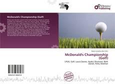 Обложка McDonald's Championship (Golf)
