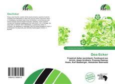 Bookcover of Dea Ecker