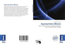 Bookcover of Appropriation (Music)
