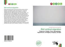 Bookcover of Diel vertical migration