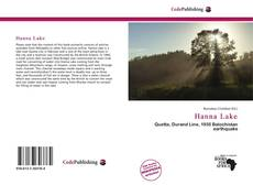 Bookcover of Hanna Lake