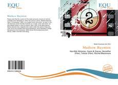 Buchcover von Mathew Baynton