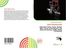 Couverture de John Baskcomb