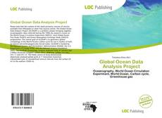 Bookcover of Global Ocean Data Analysis Project