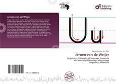 Обложка Jeroen van de Weijer