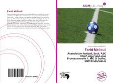 Обложка Farid Mellouli