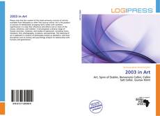 Couverture de 2003 in Art