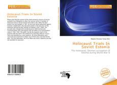 Portada del libro de Holocaust Trials In Soviet Estonia